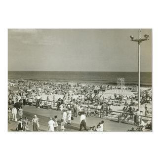 Crowded Beach Invitations