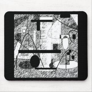 Crowded Room Mouse Pad