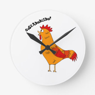 Crowing Rooster Clock