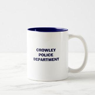 CROWLEY POLICE DEPARTMENT MUG