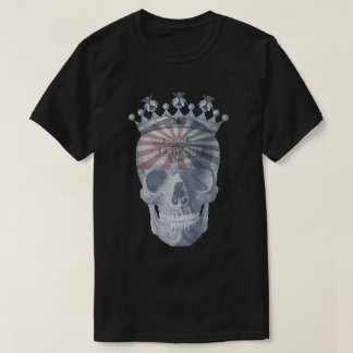 Crown Anchor Bees High Voltage Keep Out Skull T-Shirt