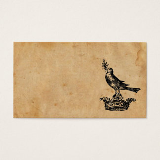 Crown and Bird Business Card