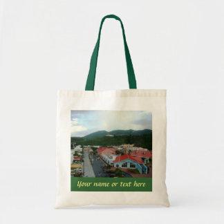 Crown Bay St. Thomas custom tote Budget Tote Bag