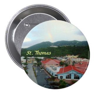Crown Bay St. Thomas, USVI 7.5 Cm Round Badge