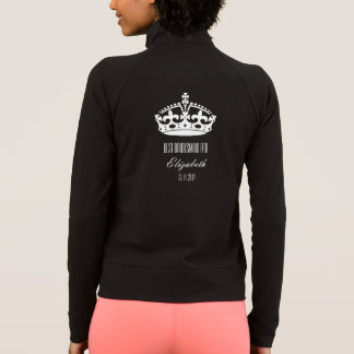 Crown Best Bridesmaid Ever Bride Team Long Top