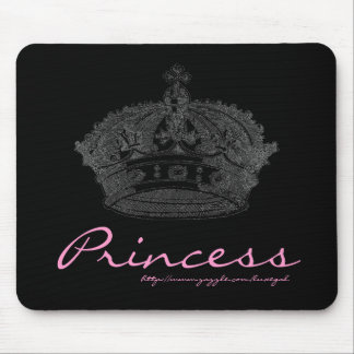 Crown Black/Pink Mousepad