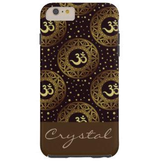 Crown Chakra Pattern Print Design Tough iPhone 6 Plus Case