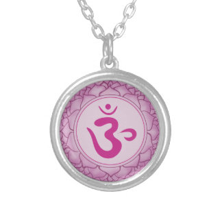 Crown Chakra - Sahasrara 7th Plated Round Necklace