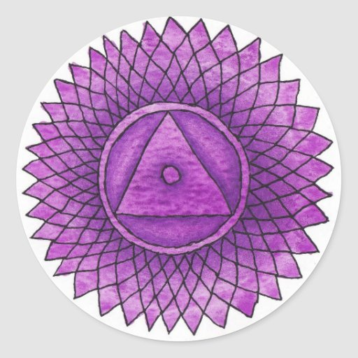 Crown Chakra Sticker