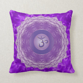 Crown Chakra Throw Pillow