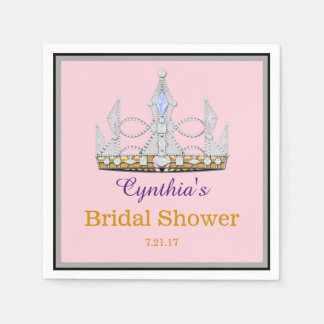 Crown event paper napkins
