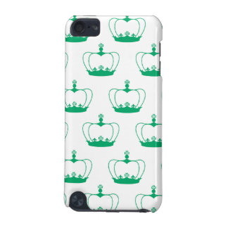 crown green white iPod touch (5th generation) case