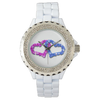 Crown heart love watch