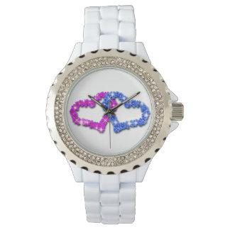 Crown heart love wristwatch