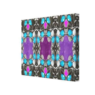 Crown Jewels Decorative Pattern Graphic Prints FUN Gallery Wrapped Canvas