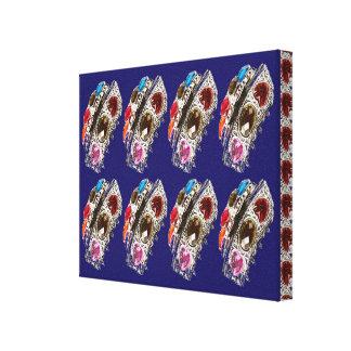 Crown Jewels Decorative Pattern Graphic Prints FUN Gallery Wrap Canvas