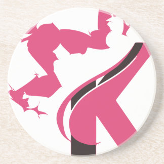 Crown K Logo Design BMI Coaster