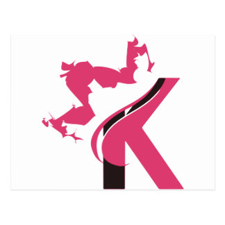 Crown K Logo Design BMI Postcard