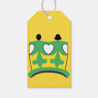 CROWN KIDS CARTOON GIFT TAG MATTE