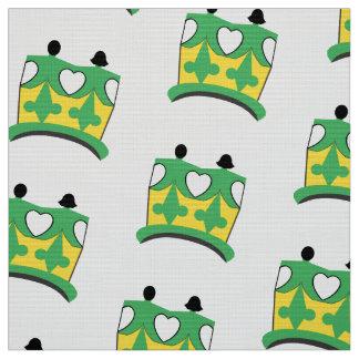 CROWN KIDS  Polyester YARD BROWN Fabric 2