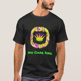 Crown, King Cake, T-Shirt