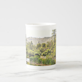 Crown King Landscape China Coffee/Tea Cup