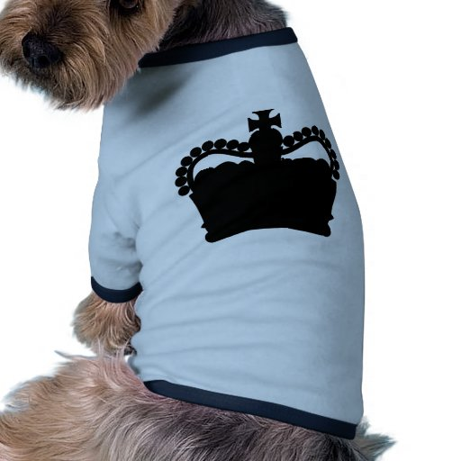 Crown - King Queen Royalty Royal Family Pet Tee