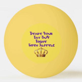Crown Liquor Ping Pong Ball