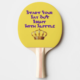 Crown Liquor Ping Pong Paddle