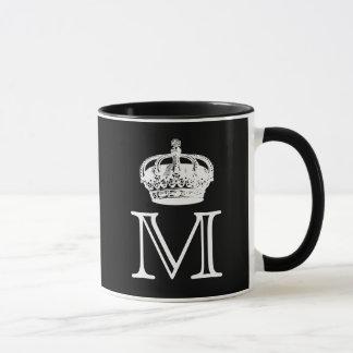 Crown Monogram Mug