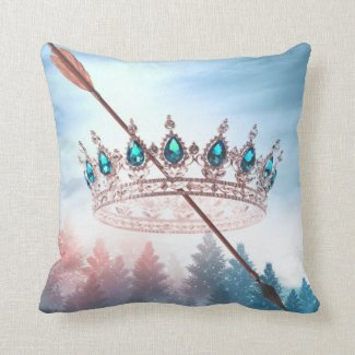Crown Of Snow | Square Cushion