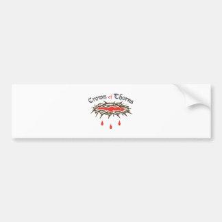 Crown of Thorns Bumper Sticker