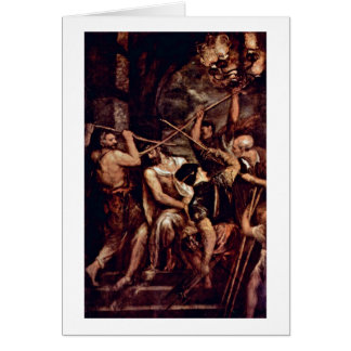 Crown Of Thorns By Titian Greeting Card