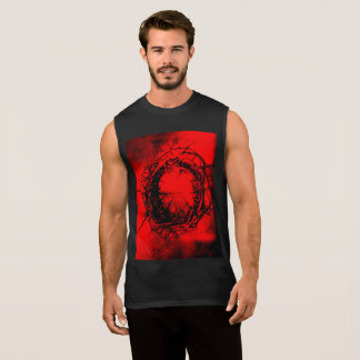 Crown of thorns sleeveless men's shirt