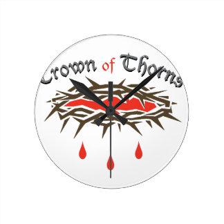 Crown of Thorns Wallclock