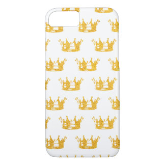 Crown Pattern Phone Case