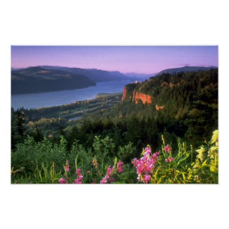 Crown Point, Columbia River Gorge, Oregon Poster