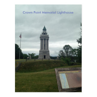 Crown Point Memorial Lighthouse Postcard
