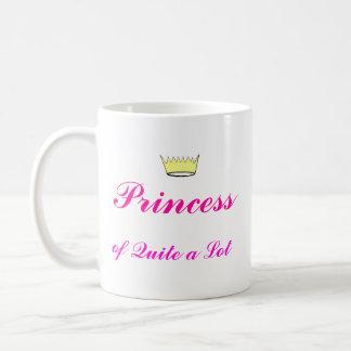 Crown, Princess, of Quite a Lot Coffee Mug