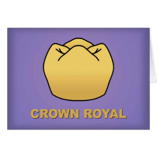"""Crown Royal"" Card"