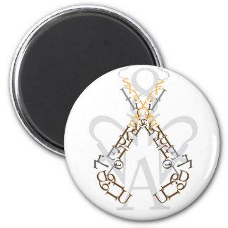 Crown Royal 6 Cm Round Magnet