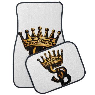 Crown S.B. logo Floor Mat