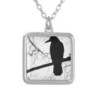 Crown Silver Plated Necklace
