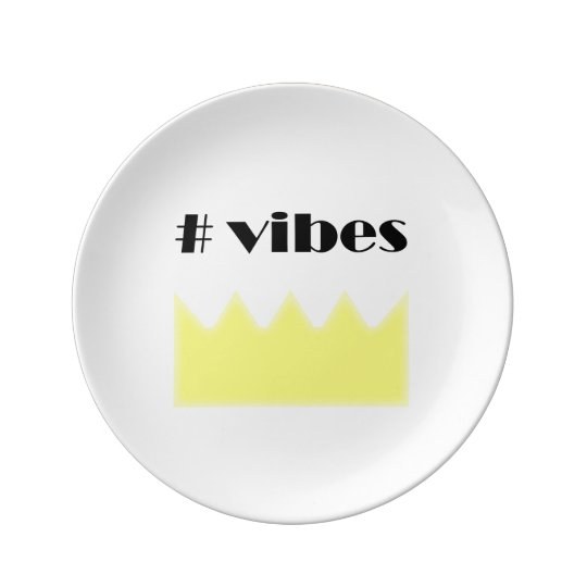 Crown - vibes - queen - king. plate