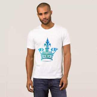 Crown with blue pattern T-Shirt