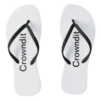Crowndit adult swim shoes thongs