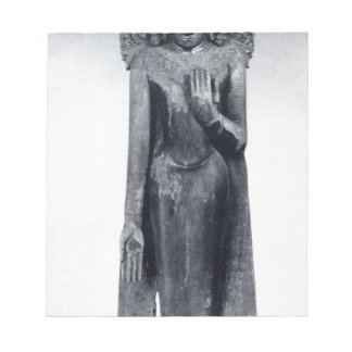 Crowned Buddha - Pagan period Notepad