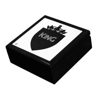 Crowned King Collection Men's Golden Oak Gift Box
