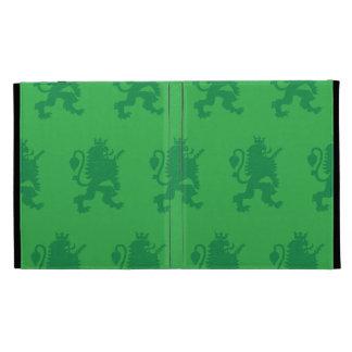 Crowned Lion Greens iPad Folio Case