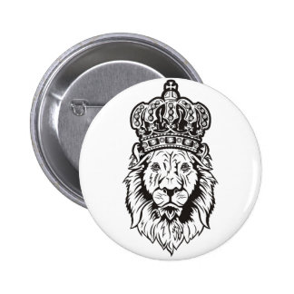 Crowned Lion's Head Pin